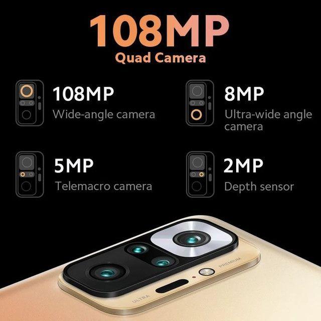 SÓ HOJE**Redmi Note 10 Pro 6/128 Nfc câmera 108mp Lançamento + Mi Band 5 - Foto 4