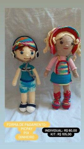 Artesanato de crochê  - Foto 3