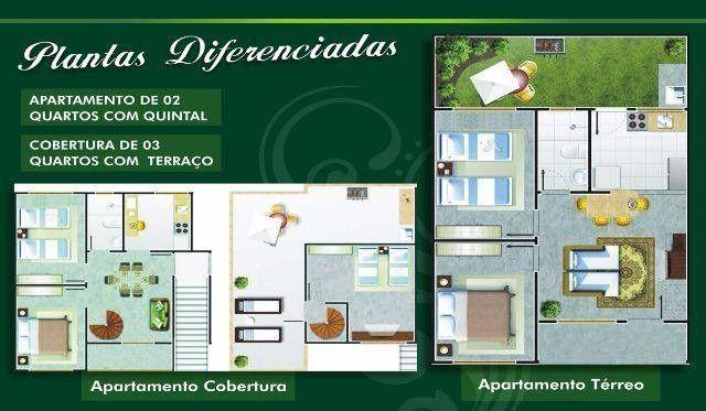 Apartamento 03 quartos 130mil 02 quartos 120mil - Foto 3