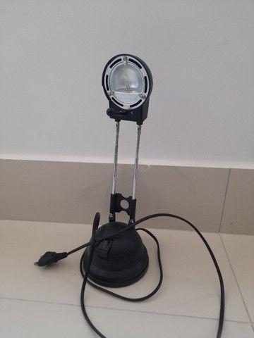 Luminária de mesa retrô - Foto 2