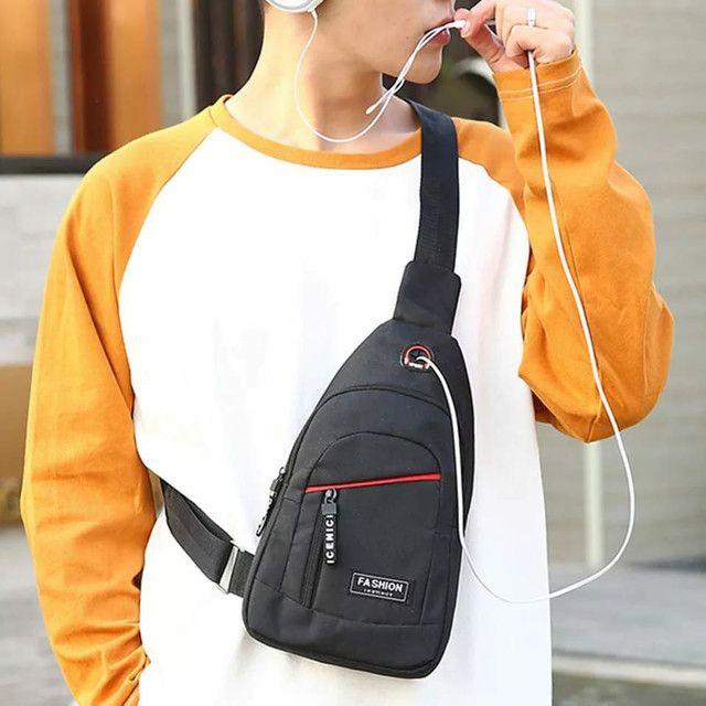 Crossbody bag, bolsa com uma alça  - Foto 4