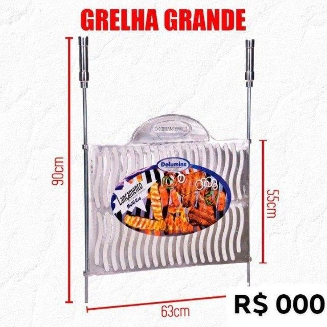 Grelha Alumínio Grande