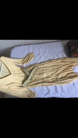 Vestido amarelo longo  - Foto 4