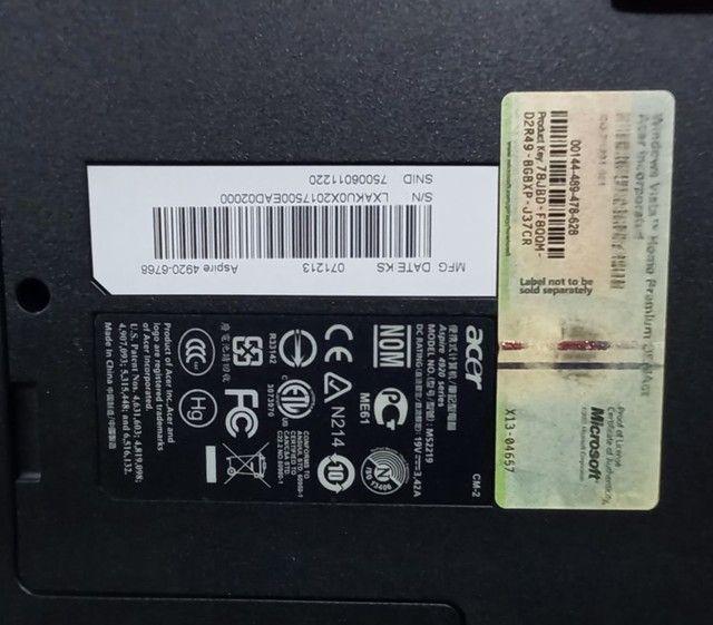 Acer Aspire 4920 com SSD - Foto 6