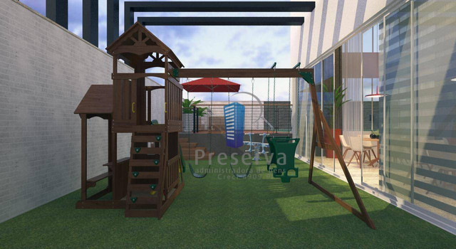 ENTREGA PARA 2024. Apartamento diferenciado, com amplo terraço e único no andar, no Centro - Foto 7