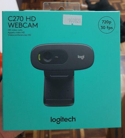 Webcam Logitech C270 Hd 720p Com Microfone - Foto 5