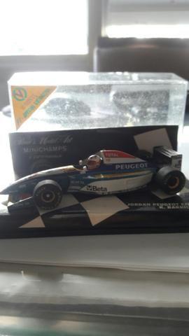 Formula Um da Jordan do Rubinho Barrichello