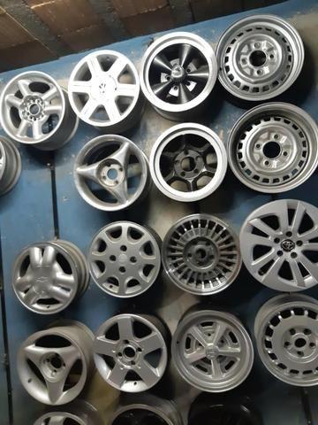 Rodas aros 13/14/15/16/17/18/19/20/22 para Fiat/GM/Nissan/VW/Toyota/Ford/Citroen e outros - Foto 2