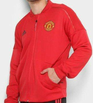 565c932c7 Jaqueta Manchester United 3Stripes Adidas Masculina - Roupas e ...
