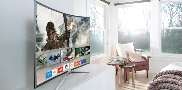 96bd1b3fe Smart TV Games LED 40  Full HD Curva Samsung com Aplicativos ...