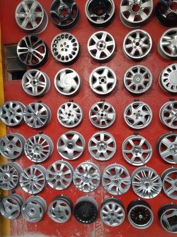 Rodas aros 13/14/15/16/17/18/19/20/22 para Fiat/GM/Nissan/VW/Toyota/Ford/Citroen e outros - Foto 8