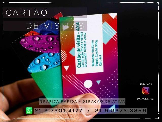 Cartão de visitas Verniz Localizado - Foto 6