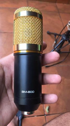 Microfone completo+pedestal vector - Foto 6