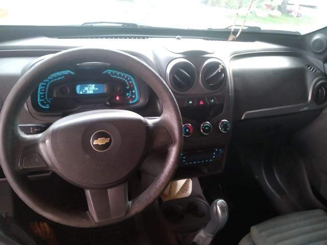 Chevrolet Montana Sport 1.4 Cor Preta Completa 2011/2011 - Foto 6