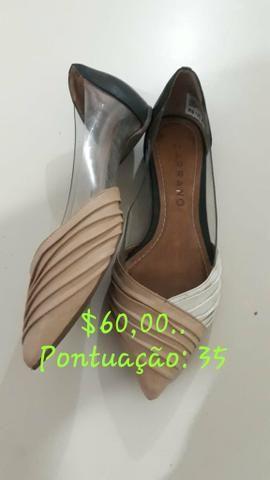 Sapatos em prefeito estado novos todos na caixa - Foto 6