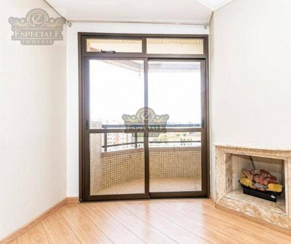 Apartamento para alugar, 176 m² por r$ 3.600,00/mês - bigorrilho - curitiba/pr - Foto 3