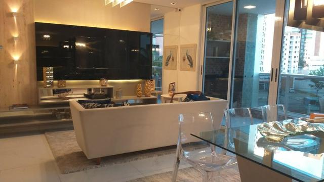 (JR) Apartamento alto padrão na Aldeota > 3 Suítes + dce > Torre Unica > 3 Vagas! - Foto 3