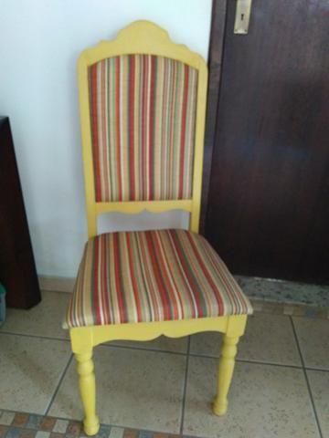 Cadeira antiga restaurada - Foto 4