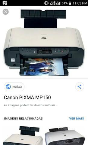Impressora Canon Pixma MP 150
