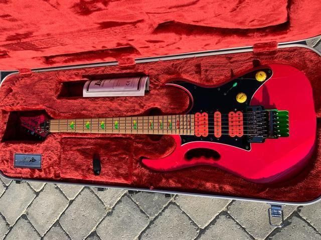 Ibanez Jem777 SP edição aniversário 30 anos Gibson Fender - Foto 3