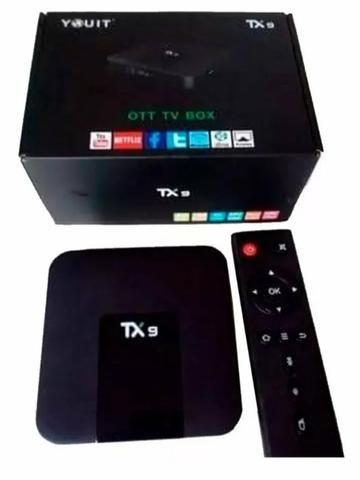Conversor smart tv tx9 3gb ram e 32 GB rom