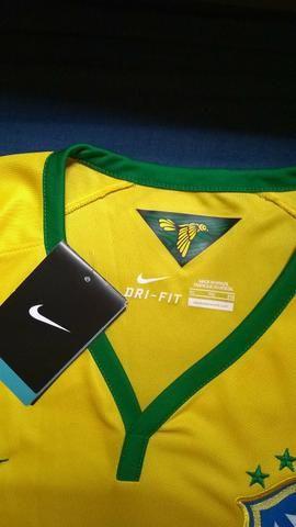 Camisa seleção brasileira 2014 - Foto 3