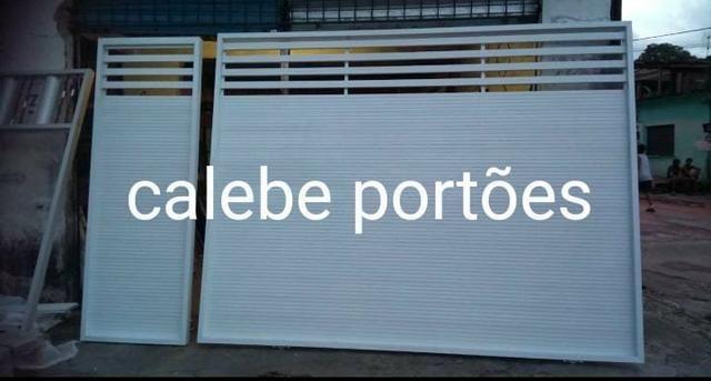 Portões de alumínio com motor - Foto 3