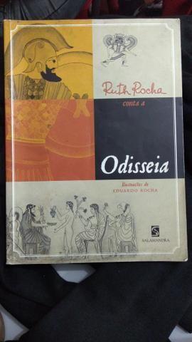 Vendo livro A Odisseia
