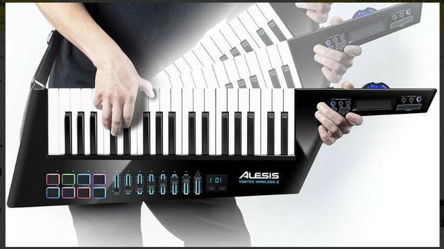 Alesis Vortex Wireless 2 Teclado Controlador Midi Keytar Us