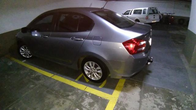Honda City - 2013 - LX - Cinza - Aut. - GNV 5ª ger. 16 m3 - completo - 77 mil rodados - Foto 4