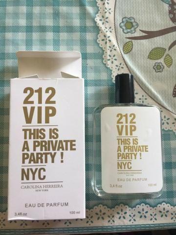 Perfume 212 Vip This Is A Private Party! Nyc - Carolina Herrera - 100ml