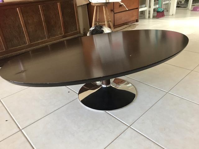 Mesa de centro oval - Foto 4