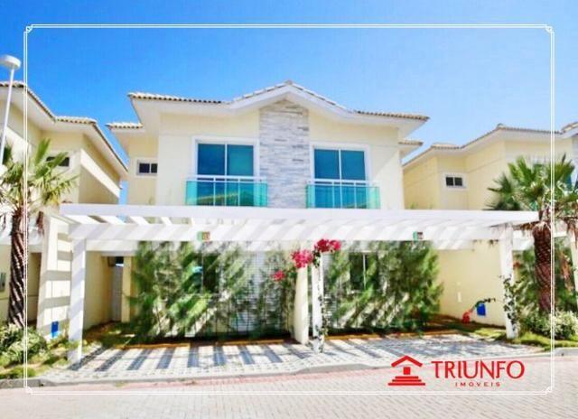 (AF16273) Condomínio de casa, Casa Jade: Alto Dunas 117m² | 3 suítes| DCE| 2 vagas