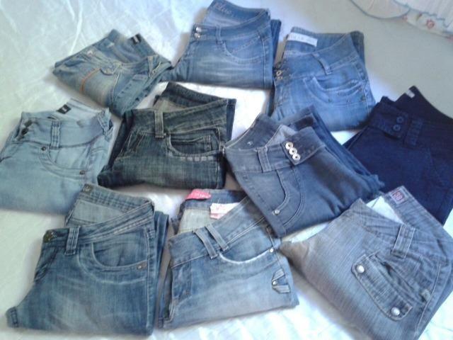 Brecho Lote Calça Jeans 300 peças Vários Tamanhos - Foto 3