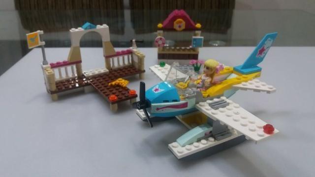 Lego 3063 Heartlake Flying Club - avião menina