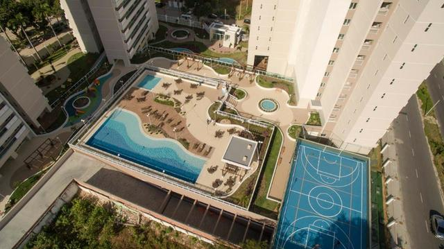 (HN) TR 25988 - Isla Jardin no Luciano Cavalcante com 70m² - 3 quartos - 2 vagas - Lazer - Foto 2