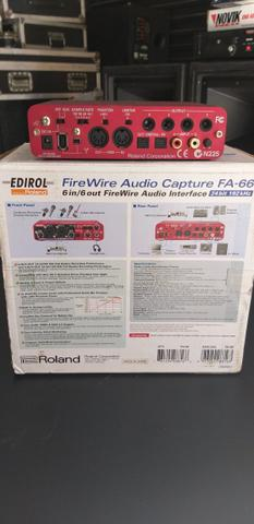 Interface Áudio Roland Edirol FireWire - Foto 4