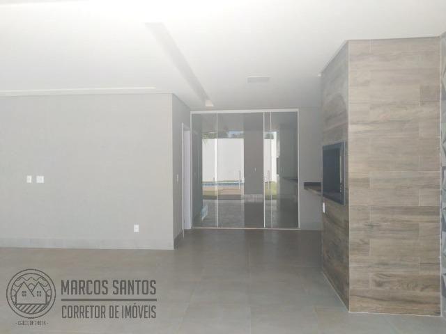 Linda casa nova moderna de alto padrão em rua 06 Vicente Pires - Foto 17