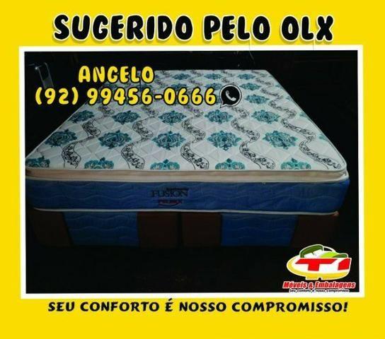 Cama box casal molas pelmex - Foto 2