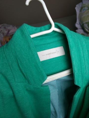 Blaser feminino verde - Foto 2