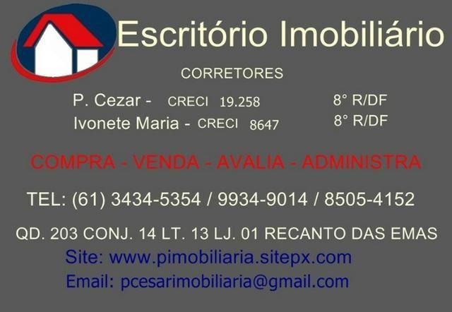 Vende-se lote com 2 moradias na quadra 102 do Recanto das Emas *