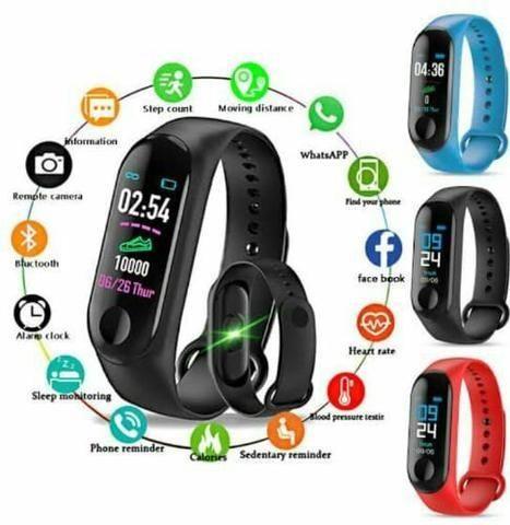 Relógio p/ pressão arterial (Smartband M3) - Foto 2
