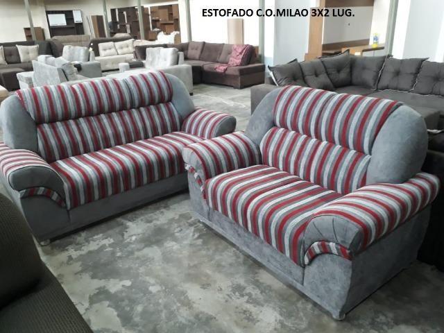 Sofá 2x3 lugares Milao - Foto 3