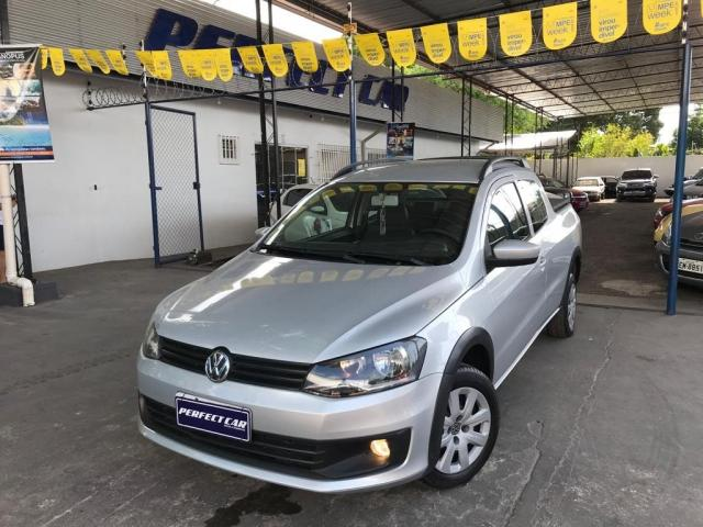 VOLKSWAGEN SAVEIRO 2014/2015 1.6 MI TRENDLINE CD 8V FLEX 2P MANUAL - Foto 14