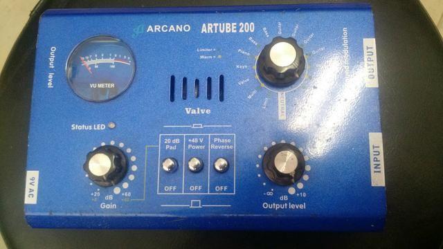 Pré amplificador valvulado para microfone - Foto 3