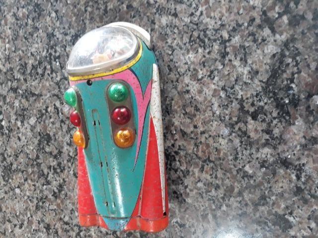 Brinquedo anos 50 nave espacial