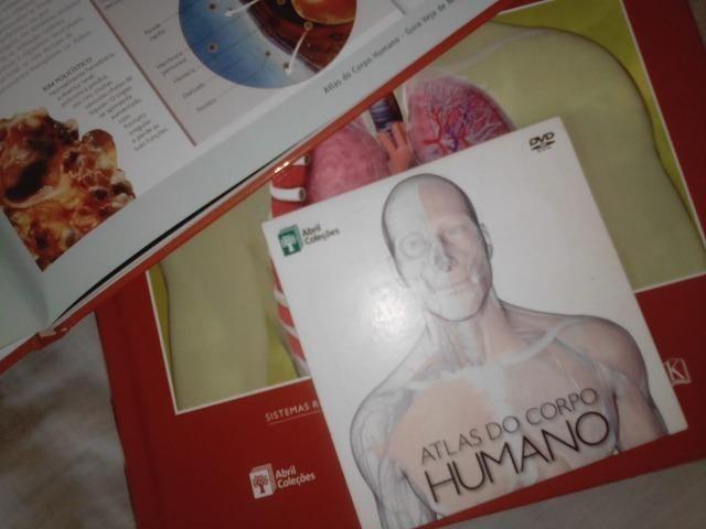 Atlas Do Corpo Humano - 4 Livros + Dvd Rom - Foto 4