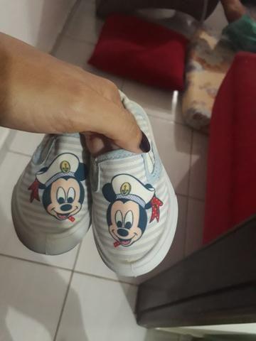 Sapatinho Infantil Mickey - Foto 3
