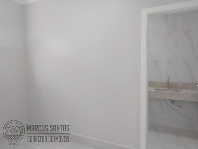 Linda casa nova moderna de alto padrão em rua 06 Vicente Pires - Foto 6