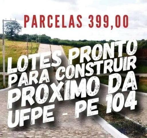 Lotes em Caruaru com 264 m² sem burocracia e pronto para construir - Foto 7